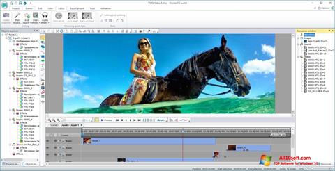צילום מסך VSDC Free Video Editor Windows 10