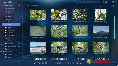 צילום מסך PowerDVD Windows 10