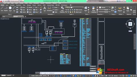 צילום מסך AutoCAD Electrical Windows 10