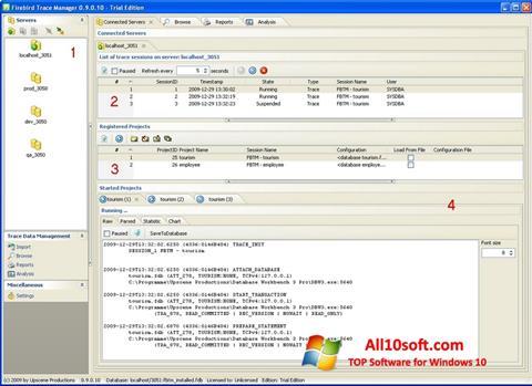 צילום מסך Firebird Windows 10