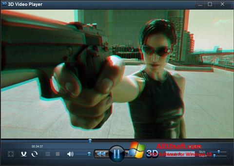 צילום מסך 3D Video Player Windows 10