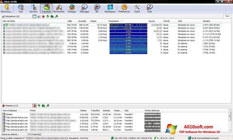 צילום מסך eMule Windows 10