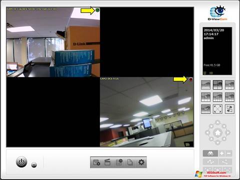 צילום מסך D-ViewCam Windows 10
