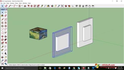 צילום מסך SketchUp Make Windows 10