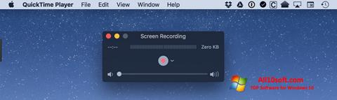 צילום מסך QuickTime Windows 10