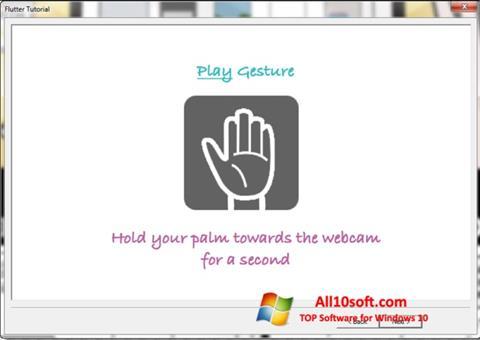 צילום מסך Flutter Windows 10