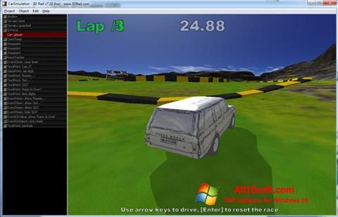 צילום מסך 3D Rad Windows 10