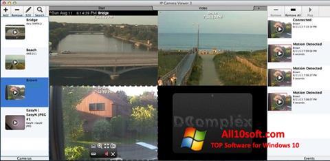 צילום מסך IP Camera Viewer Windows 10