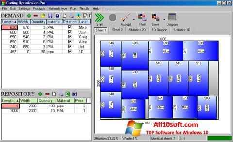 צילום מסך Cutting Windows 10