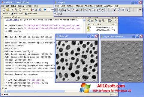 צילום מסך ImageJ Windows 10