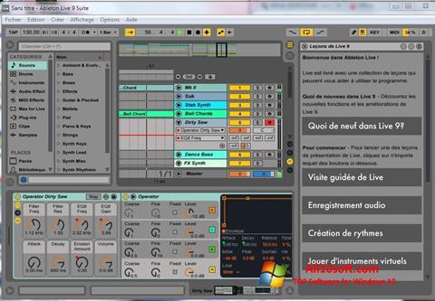 צילום מסך Ableton Live Windows 10