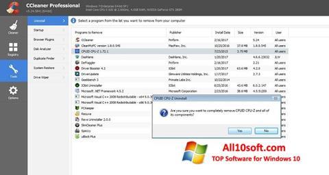 צילום מסך CCleaner Professional Plus Windows 10