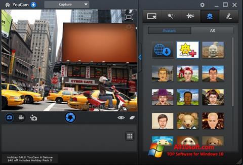 צילום מסך CyberLink YouCam Windows 10