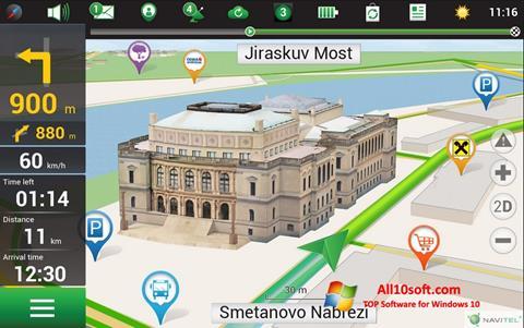 צילום מסך Navitel Navigator Windows 10