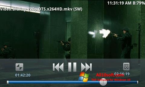 צילום מסך BSPlayer Windows 10