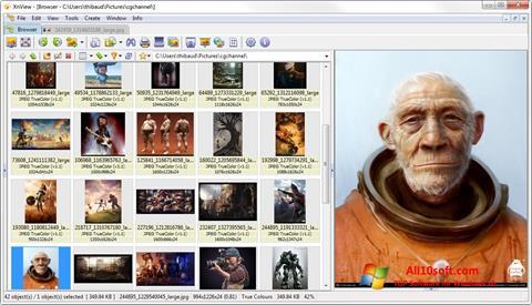 צילום מסך XnView Windows 10