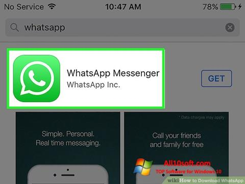 צילום מסך WhatsApp Windows 10