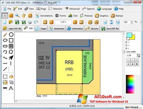 צילום מסך PDF Reader Windows 10