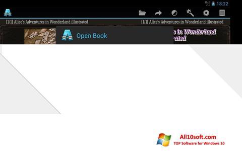 צילום מסך AlReader Windows 10