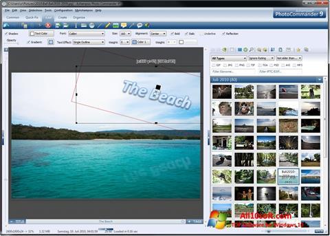 צילום מסך Ashampoo Photo Commander Windows 10