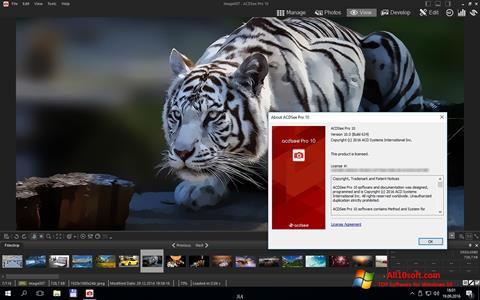 צילום מסך ACDSee Pro Windows 10