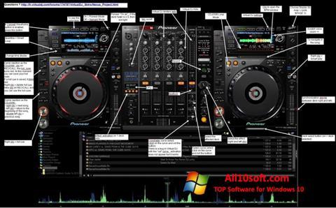 צילום מסך Virtual DJ Windows 10